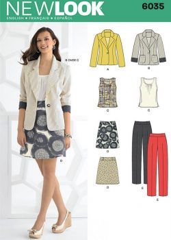 New Look Pattern 6035 - Misses' Separates