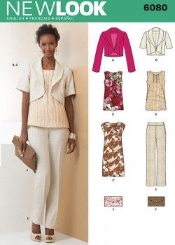 New Look Pattern 6080 - Misses' Sportswear
