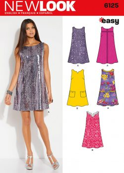 New Look Pattern 6125 - Misses' Dresses