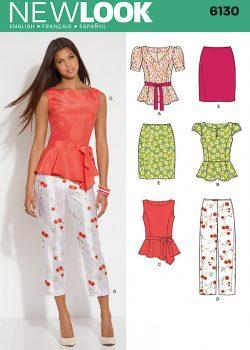 New Look Pattern 6130 - Misses' Sportswear