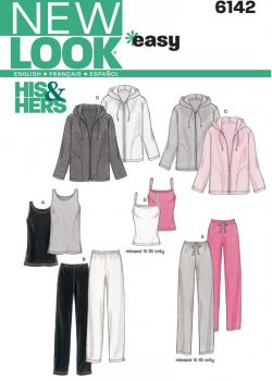 New Look Pattern 6142 - Misses' & Men's Separates
