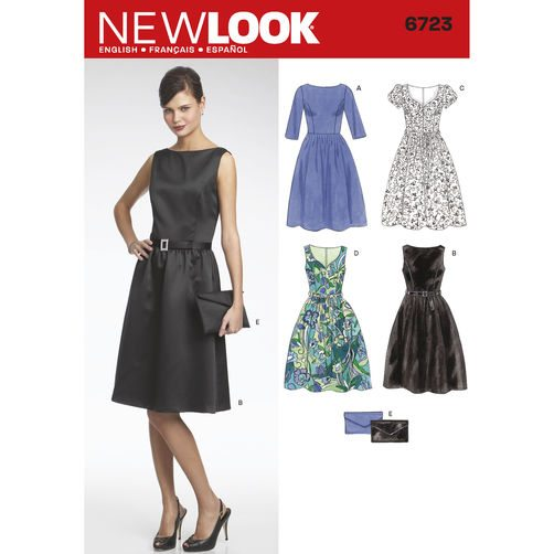 New Look Pattern 6723 - Misses Dresses | Sewing Patterns Online