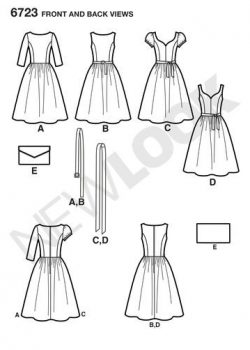newlook-dresses-pattern-6723-front-back-view