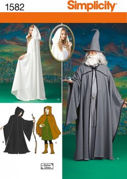 Simplicity Sewing Pattern 1582 - Misses, Men and Teen Costumes