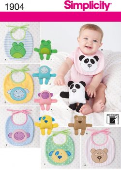 (Discontinued) Simplicity Sewing Pattern 1904 - Babies' Accessories