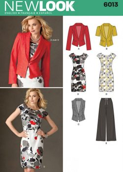 New Look Pattern 6013 - Misses' Separates