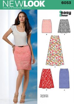 New Look Pattern 6053 - Misses' Skirts