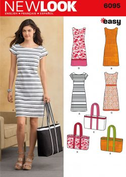 New Look Pattern 6095 - Misses' Dresses