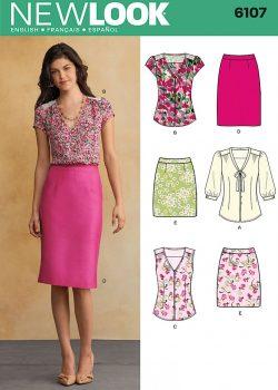 New Look Pattern 6107 - Misses' Sportswear