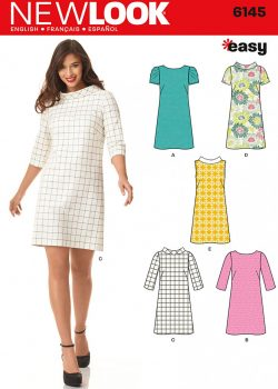 New Look Pattern 6145 - Misses' Dress