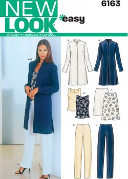 New Look Pattern 6163 - Misses' Sportswear