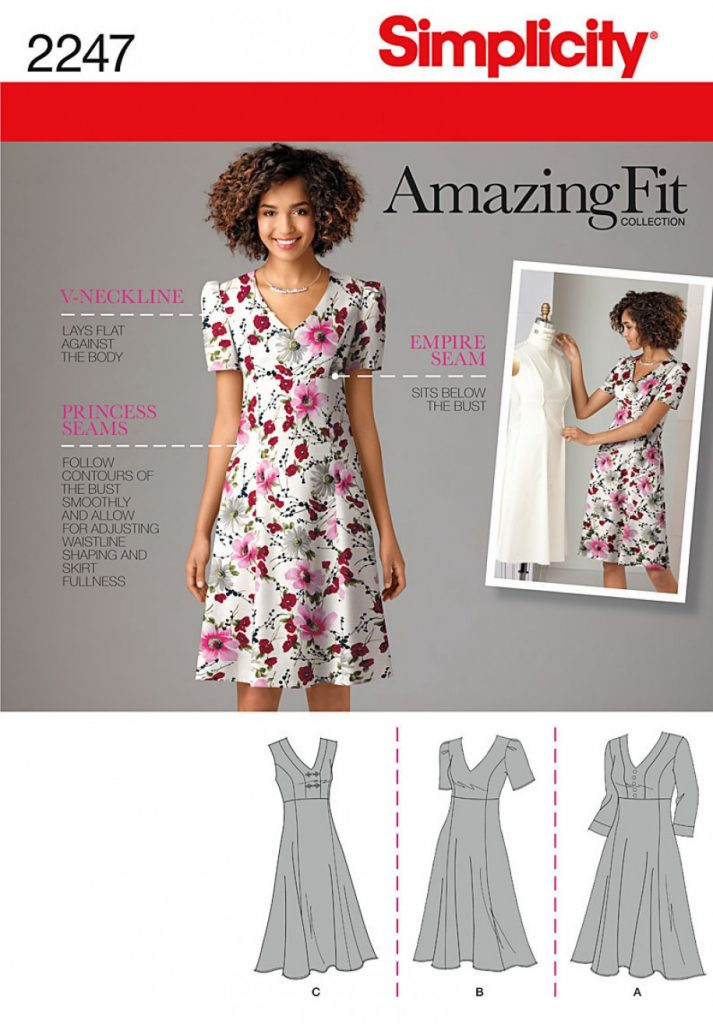 Simplicity Sewing Pattern 2247-AA - Misses & Plus Size Amazing Fit ...