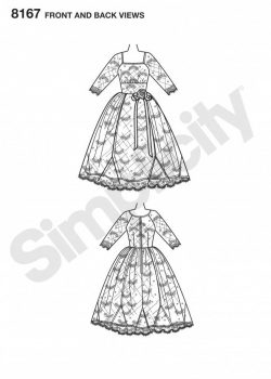 (Discontinued) Simplicity Sewing Pattern 8167-D5 - Sew Chic Dress
