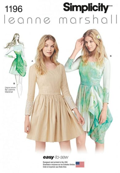 (Discontinued) Simplicity Sewing Pattern 1196-D5 - Misses Easy-to-Sew Leanne Marshall Dress