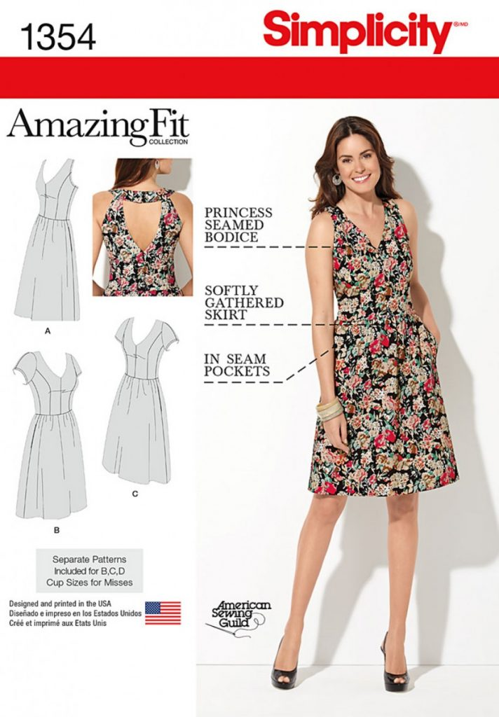 Discontinued) Simplicity Sewing Pattern 1354-BB - Misses and Plus ...