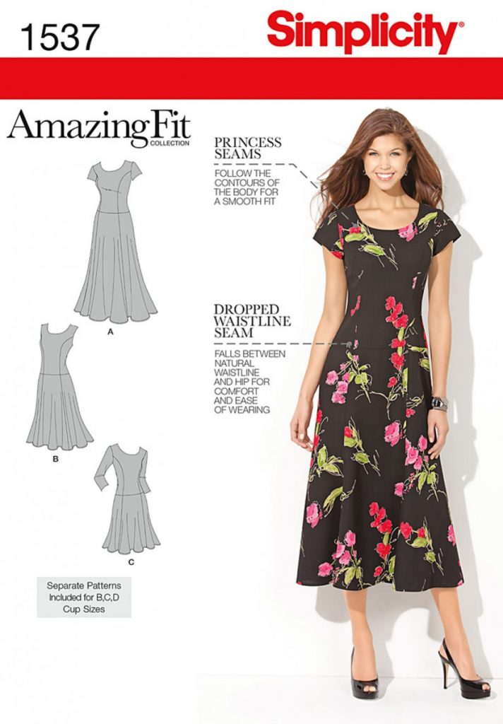 Simplicity Sewing Pattern 1537-BB - Misses and Plus Size Amazing Fit ...