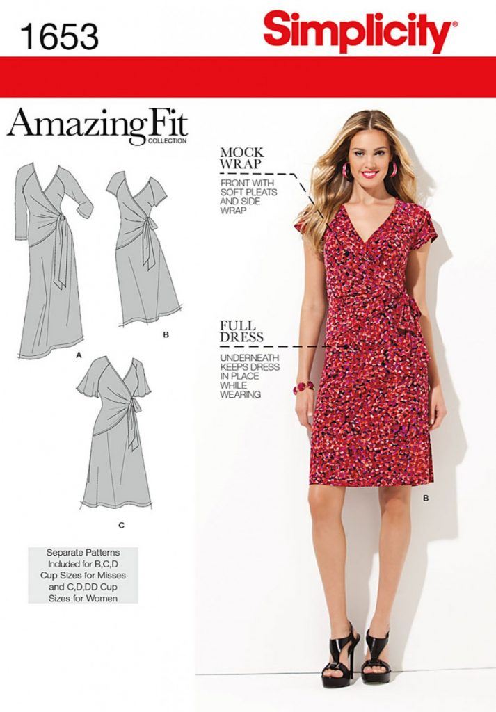 Simplicity Sewing Pattern 1653-AA - Misses & Plus Sizes Amazing Fit ...