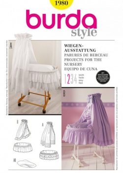 Burda Style Sewing Pattern - 1980 - Projects For Nursery Creative | Accessories