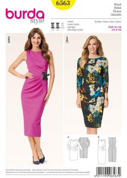 Burda Style Sewing Pattern - 6563 - Dresses