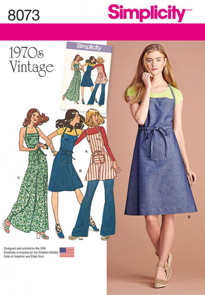 Discontinued Simplicity Sewing Pattern 8073 P5 Vintage