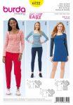 Burda Style Sewing Pattern - 6722 - Shirt & Dress Dresses/Tops ShirtsBlouses