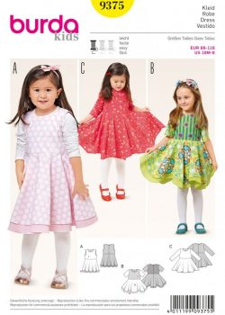 Burda Style Sewing Pattern - 9375 - Dresses