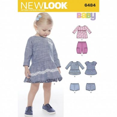 New Look Pattern 6484 - Wardrobe Pieces