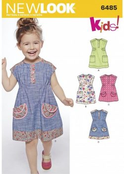 New Look Pattern 6485 - Dress or Tunic with Fabric Variations