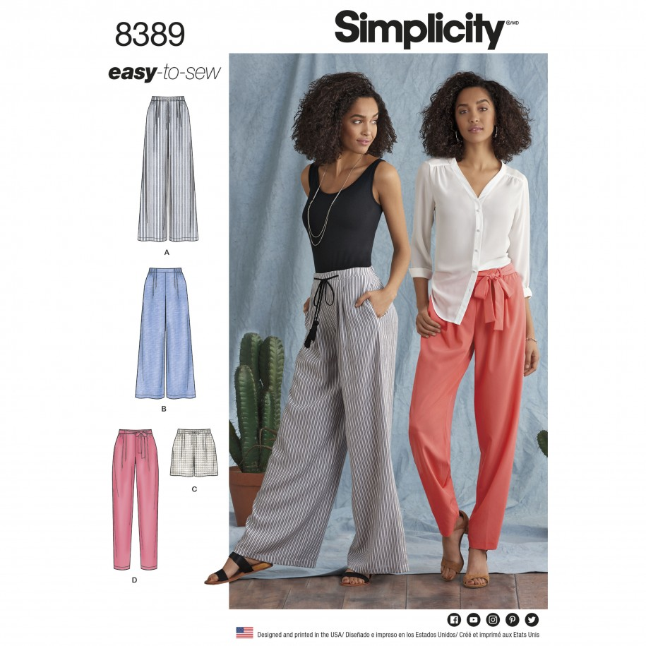 Simplicity Sewing Pattern 8389-H5