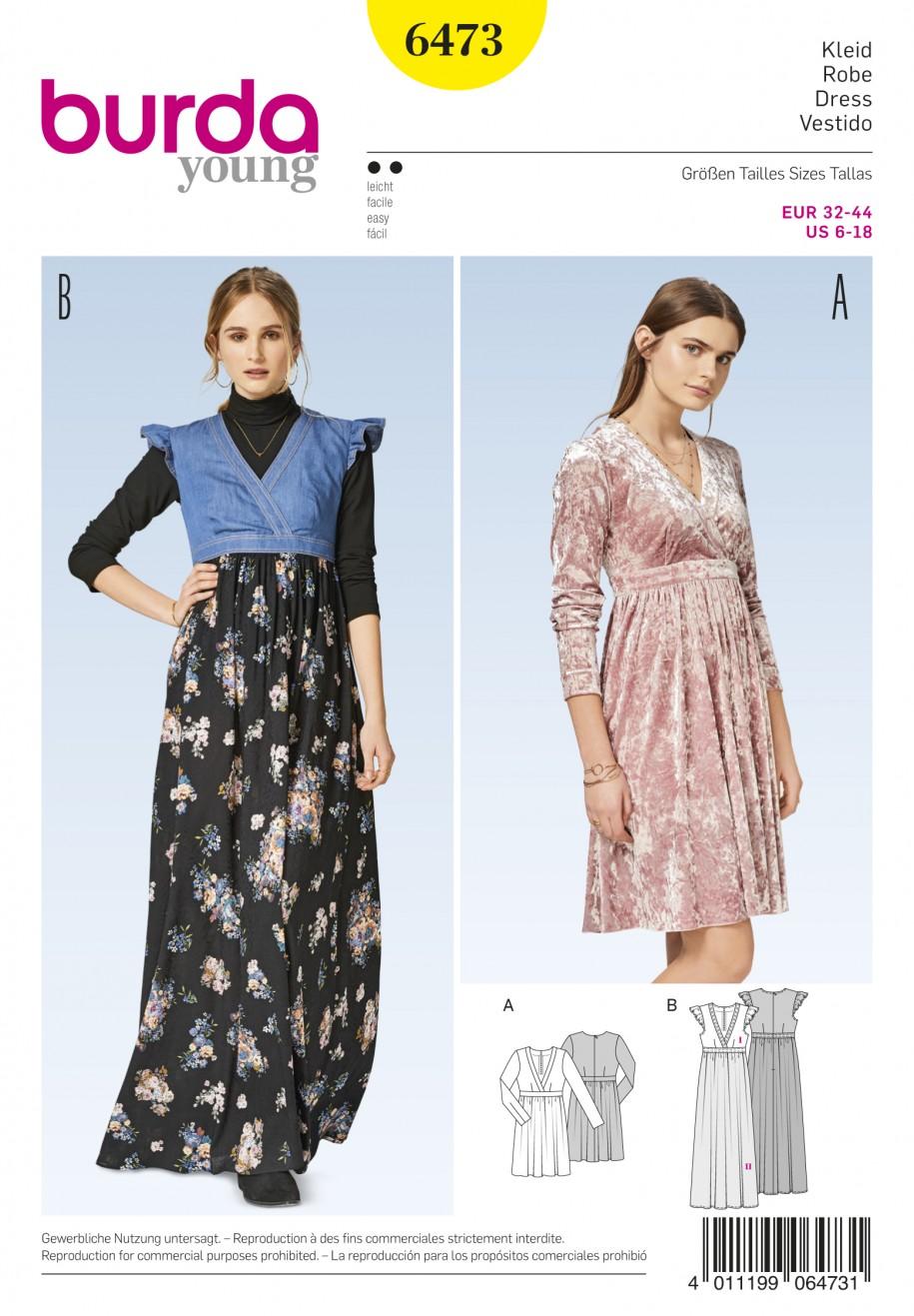 Wrap Dress Sewing Pattern Custom Design Inspiration