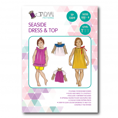 Tadah Sewing Pattern - Seaside Dress & Top