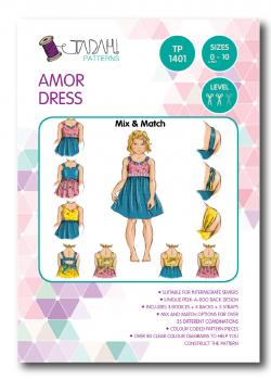 Tadah Sewing Pattern - Armor Dress