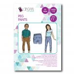 Tadah Sewing Pattern - Peg Pants