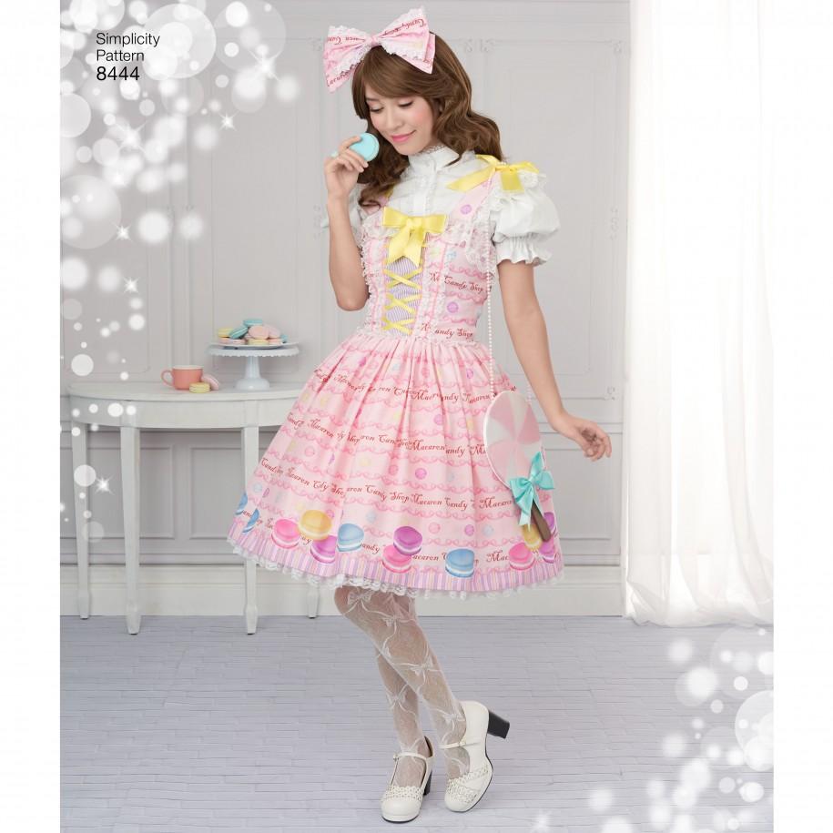 Simplicity Sewing Pattern 8444-D5 -Lolita Costume