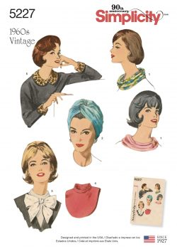 Simplicity Sewing Pattern 5227-OS - Vintage Accessories