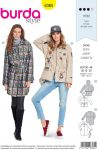 Burda Style Sewing Pattern - 6360 - Misses' Jacket - Size 10-20