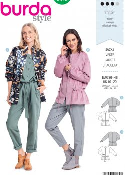 Burda Style Sewing Pattern - 6379 - Misses' Blouson - Size 10-20