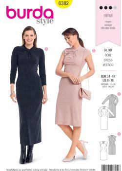 Burda Style Sewing Pattern - 6382 - Misses' Shirt Dress - Size 8-18