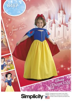 Simplicity Sewing Pattern 8487-HH - Child's and Girls' Snow White Costume