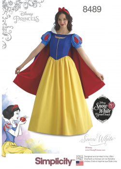 Simplicity Sewing Pattern 8489-RR - Misses' Snow White Costume