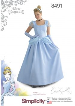 Simplicity Sewing Pattern 8491-HH - Misses' Cinderella Costume