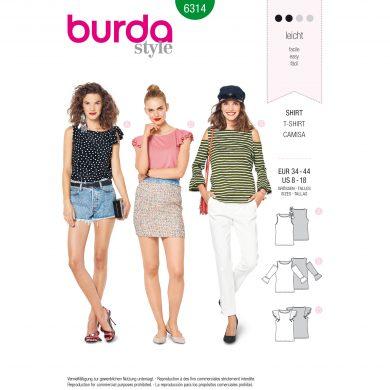 Burda Style Pattern - B-6314