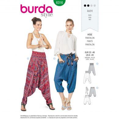 Burda Style Pattern - B-6316