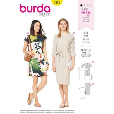 Burda Style Pattern - B-6322