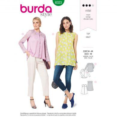Burda Style Pattern - B-6323