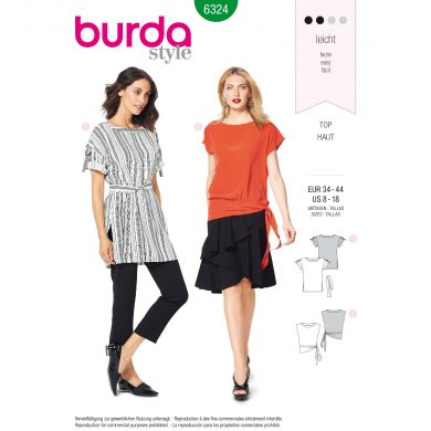 Burda Style Pattern - B-6324