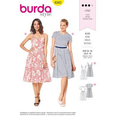 Burda Style Pattern - B-6343
