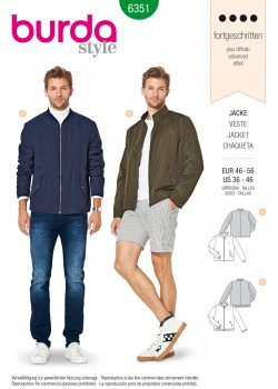 Burda Style Pattern - B-6351