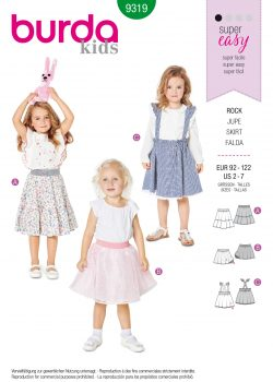 Burda Style Pattern - B-9319