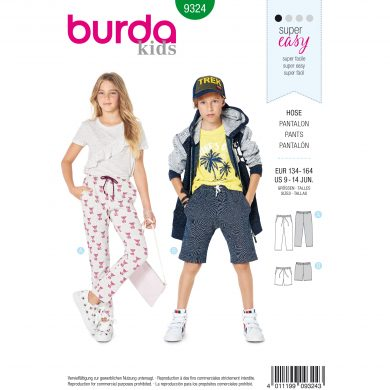 Burda Style Pattern - B-9324